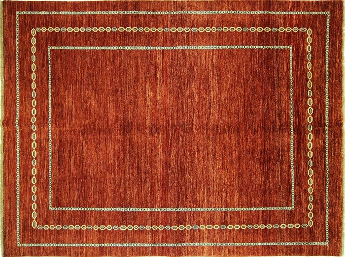 Kashkuli Collection Oriental 6 X8 Hand Knotted Gabbeh