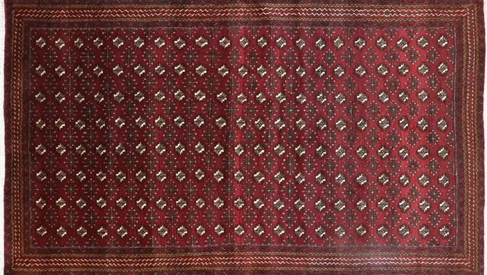 5 X 8 Oriental Persian Bokhara Area Rug P3054