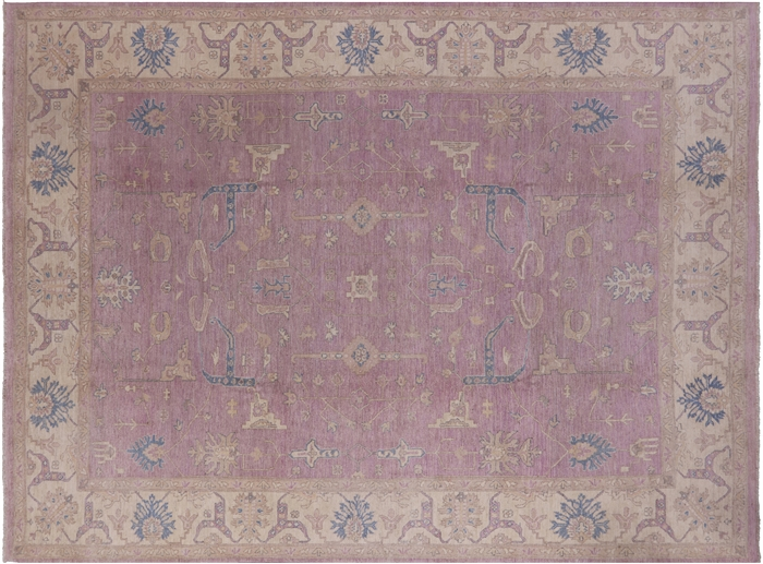 White Wash Persian Hand Knotted Area Rug