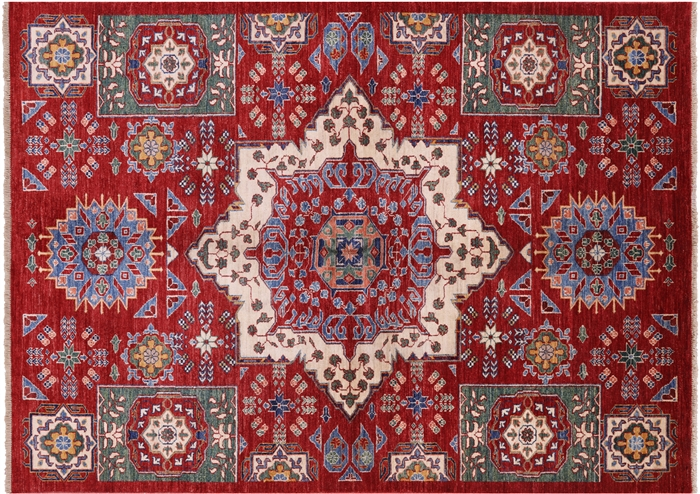5 7 Quot X 7 8 Quot Peshawar Hand Knotted Mamluk Design Rug