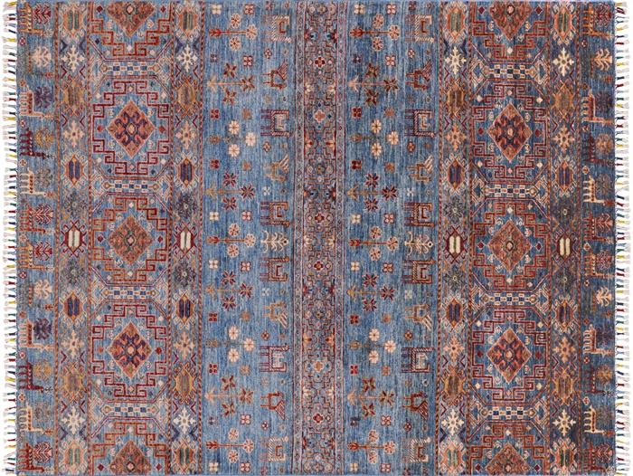 5 X 7 Super Kazak Hand Knotted Wool Khorjin Area Rug