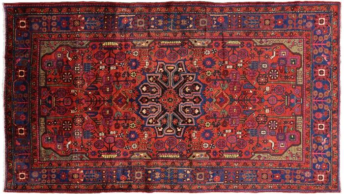 Tribal Nahavand 5 6 Quot X 9 9 Quot Authentic Persian Area Rug