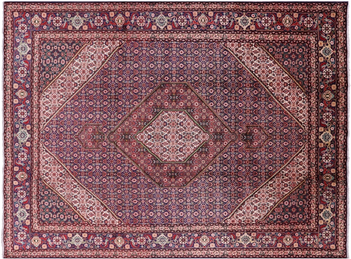 New Hand Knotted 10 X 13 Persian Tabriz Fish Design Area Rug
