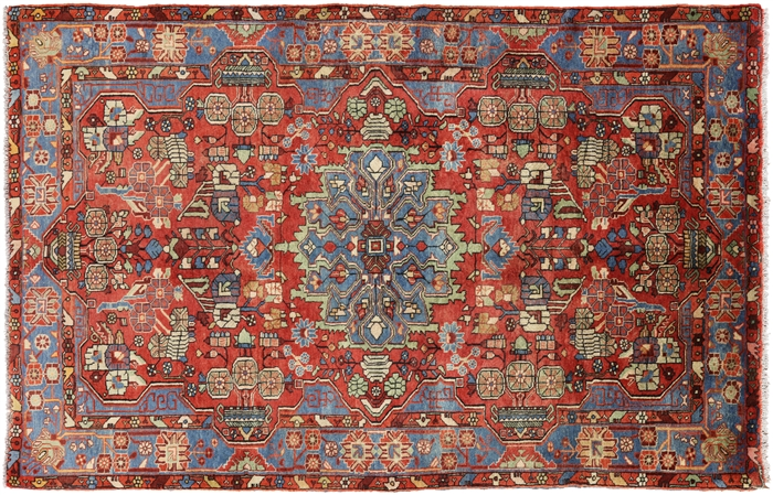 New Hand Knotted Oriental Authentic Persian Nahavand 5 X 8