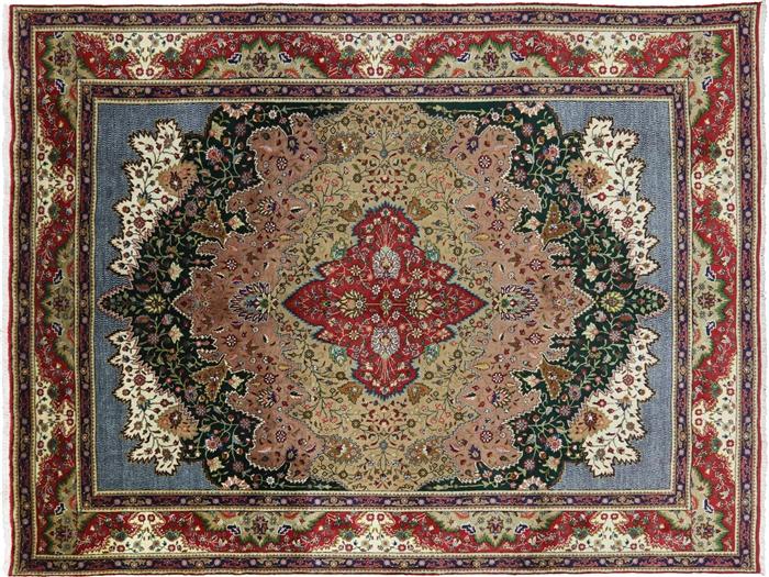 New Oriental 10 X 13 Persian Tabriz Handmade Area Rug