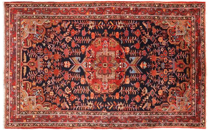 New Persian Hamadan Full Pile Area Rug 5 3 Quot X 8 6 Quot